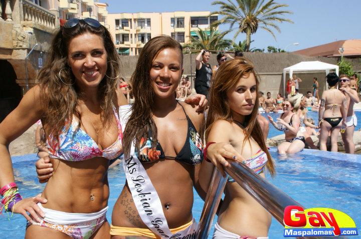 Gay Pride Maspalomas 2013 (Gran Canaria) Las Walkirias
