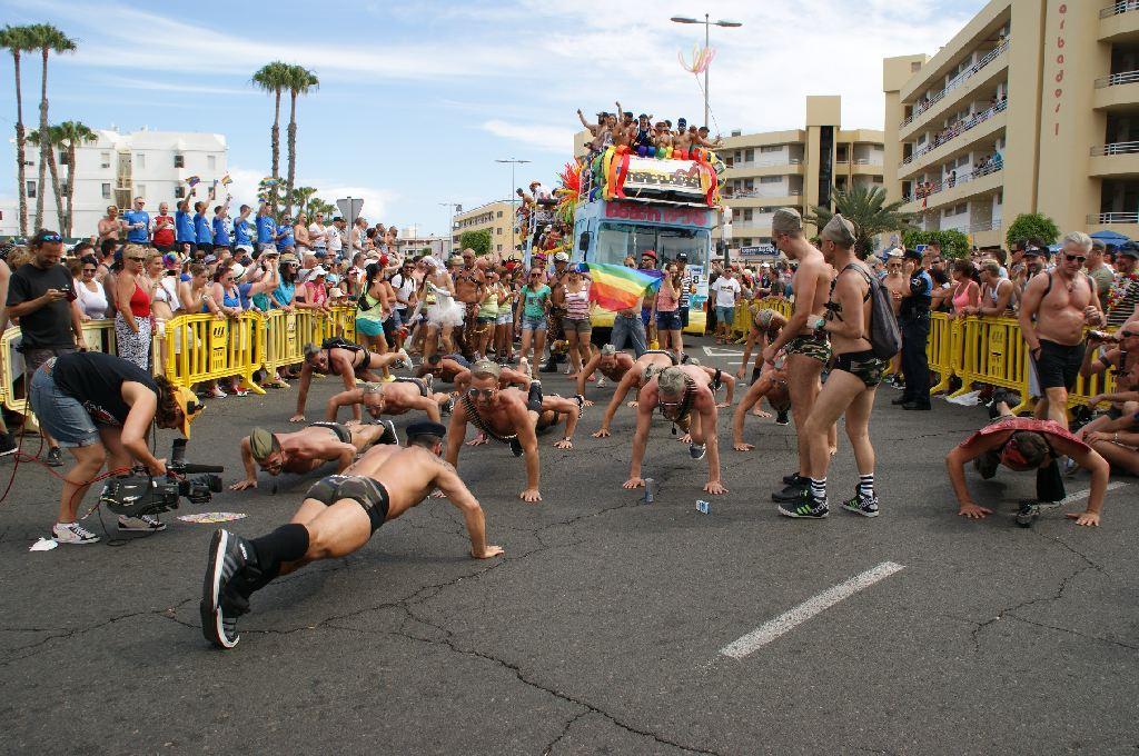 Parade Gay Pride Maspalomas 2014