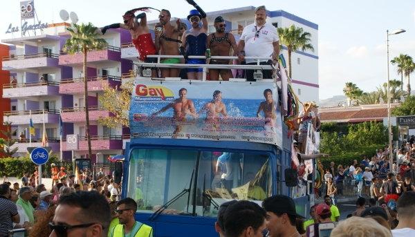 Parade Gay Pride Maspalomas 2016