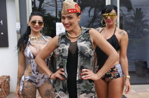 Lesbian Pool Party 2016
