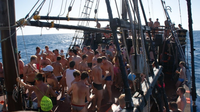 Men only Boat Trip 2017