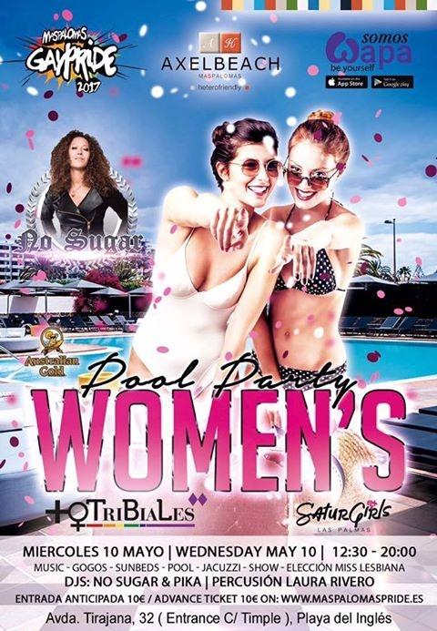 Lesbian Pool Party 2017