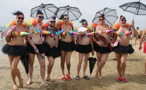 Winter Pride Maspalomas 2015 Gay Beach