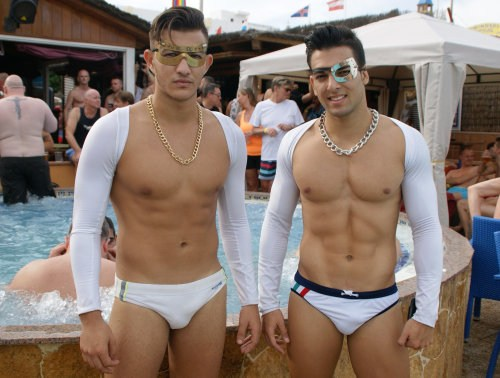 Winter Pride Maspalomas 2015 Opening Pool Party