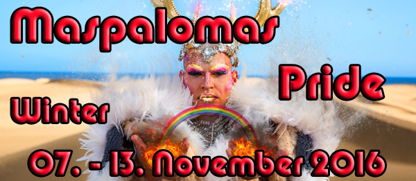 Maspalomas Winter Pride 2016