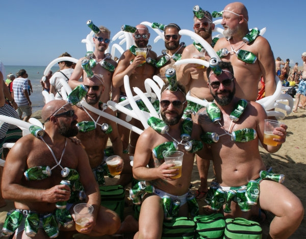 Maspalomas Winter Pride 2015 Gay Beach