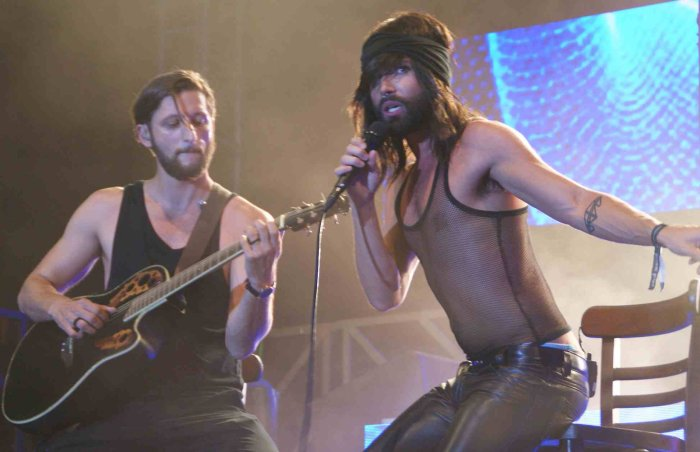 Conchita live im Yumbo Center (Gran Canaria)